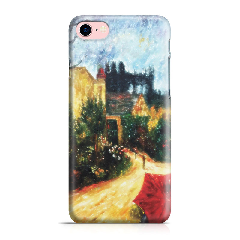 iPhone 7 Case - Pissarro's Garden, Pontoise 1881 by Paul Gauguin