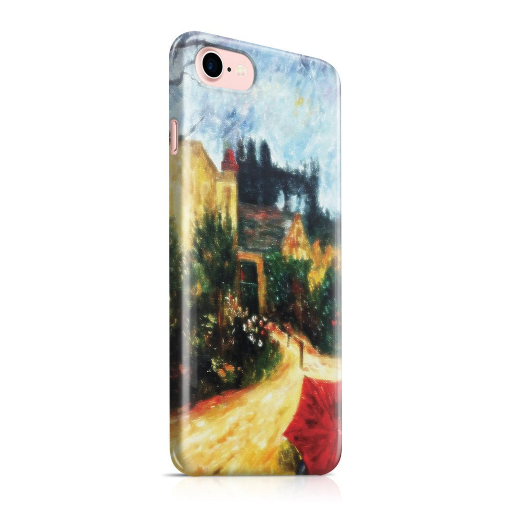 iPhone 8 Case - Pissarro's Garden, Pontoise 1881 by Paul Gauguin
