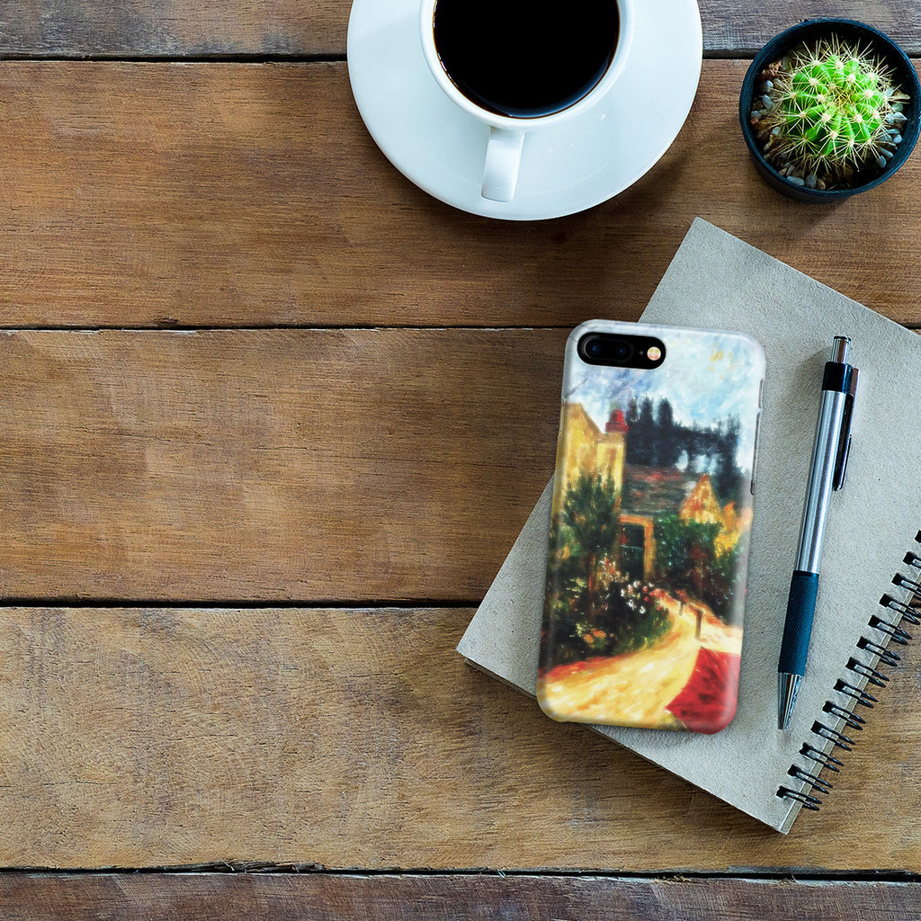 iPhone 7 Plus Case - Pissarro's Garden, Pontoise 1881 by Paul Gauguin