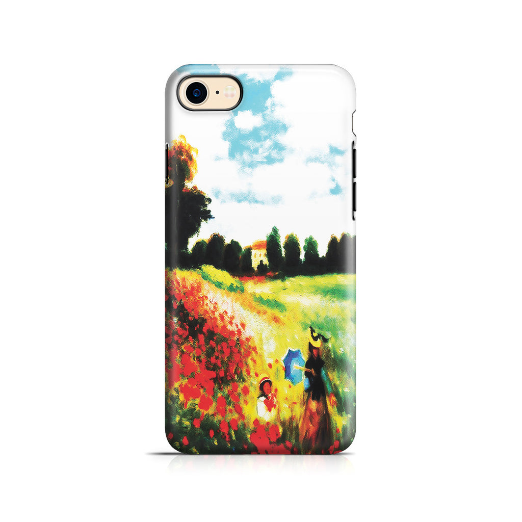 iPhone 6 | 6s Adventure Case - Poppy Field In Argenteull Oil Painting by Claude Monet