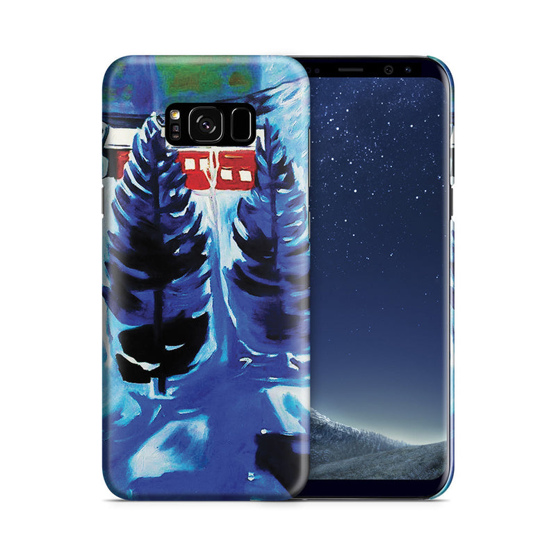 Galaxy S8 Plus Case - Red House and Spruces, 1927 by Edvard Munch