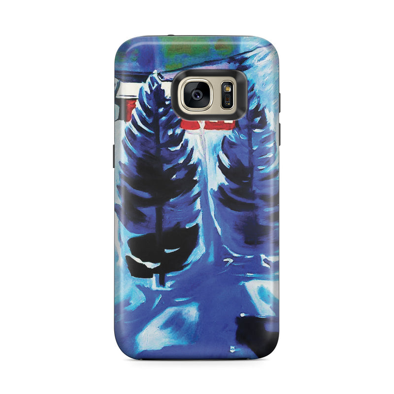 Galaxy S7 Edge Adventure Case - Red House and Spruces, 1927 by Edvard Munch