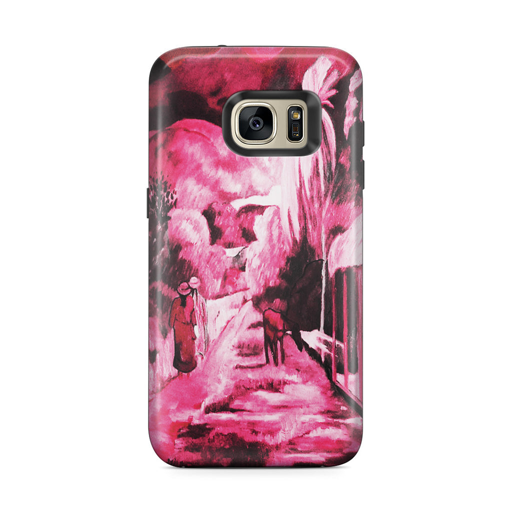 Galaxy S7 Edge Adventure Case - Road in Tahiti, 1891 by Paul Gauguin