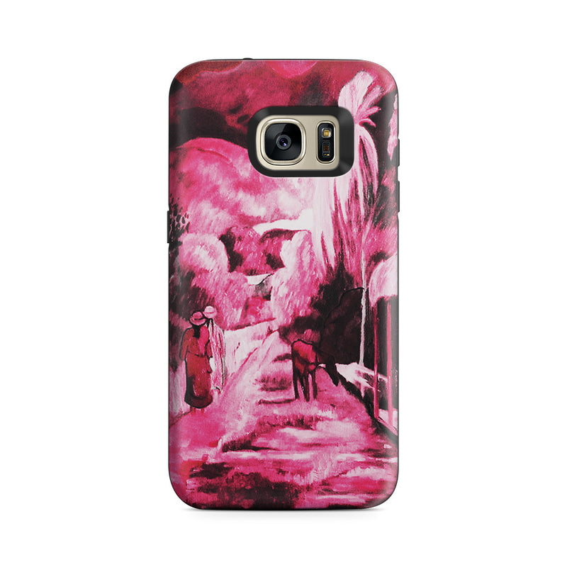 Galaxy S7 Adventure Case - Road in Tahiti, 1891 by Paul Gauguin