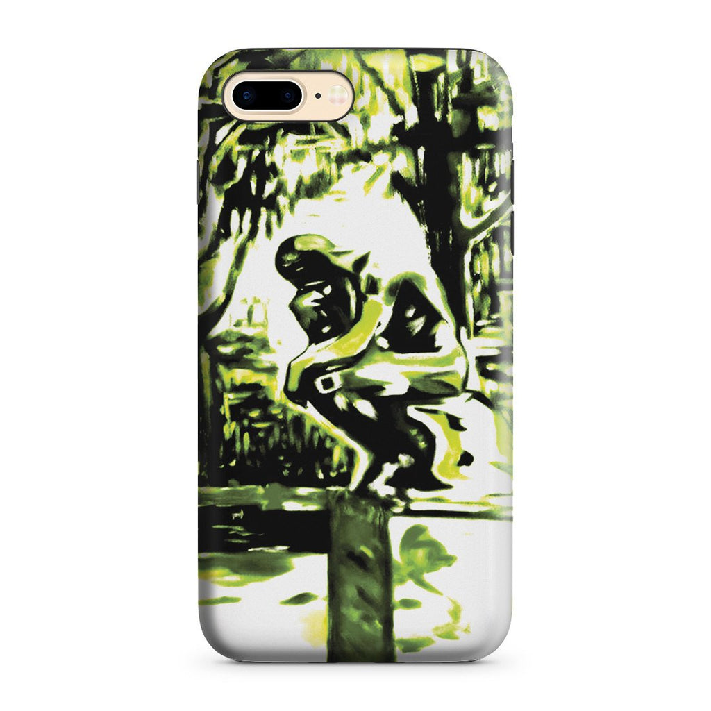 iPhone 8 Plus Adventure Case - Rodin's Le Penseur In Dr. Linde's Garden, 1907 by Edvard Munch