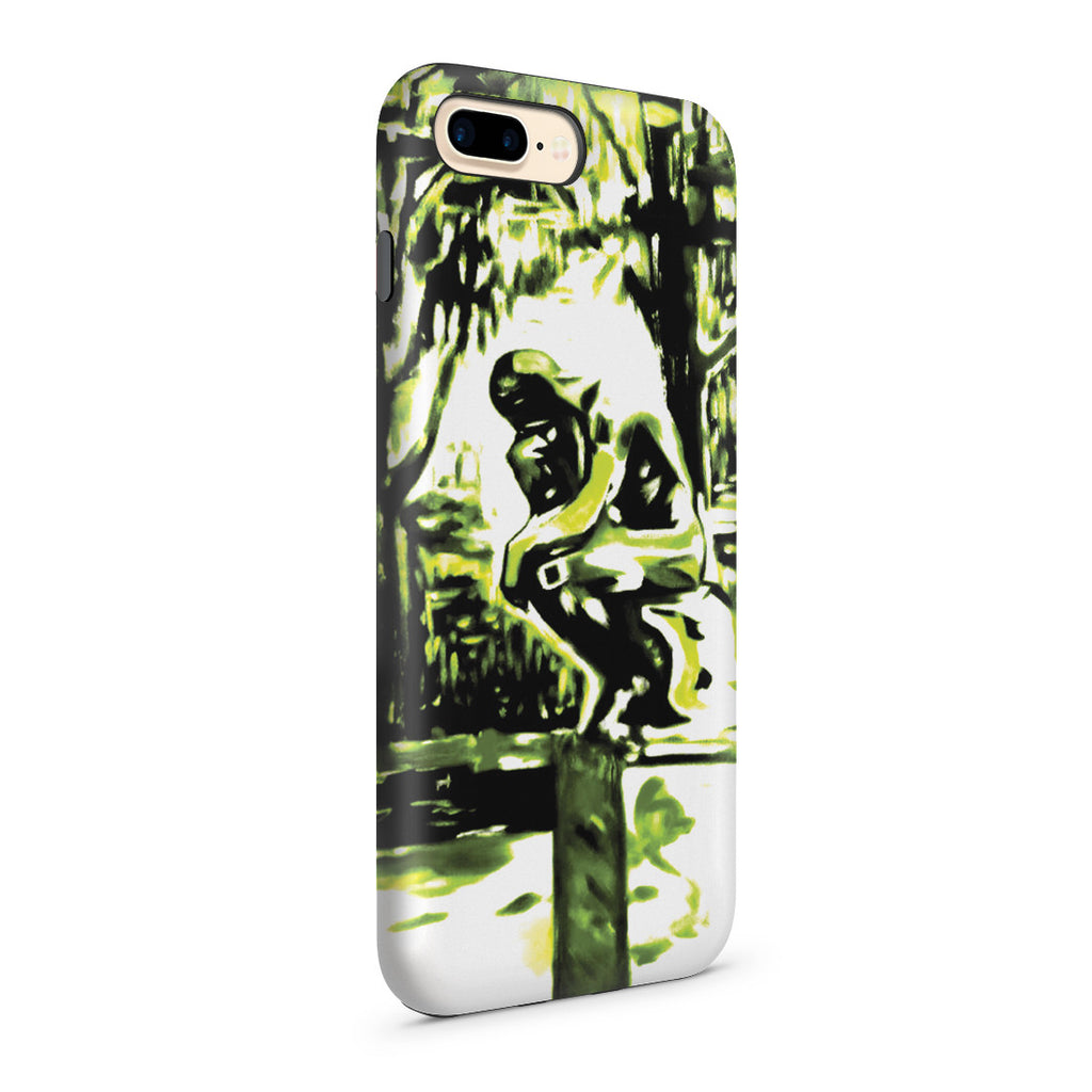 iPhone 7 Plus Adventure Case - Rodin's Le Penseur In Dr. Linde's Garden, 1907 by Edvard Munch