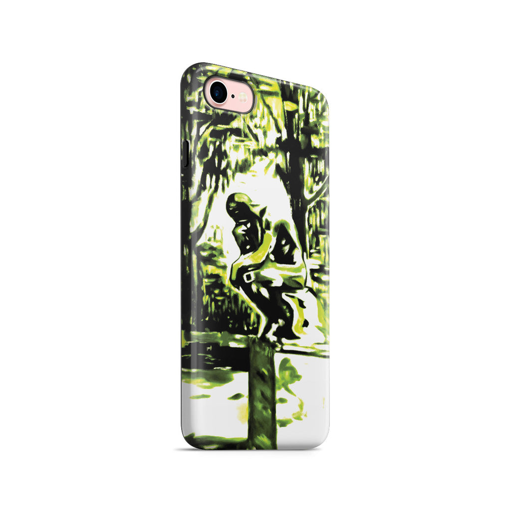 iPhone 7 Adventure Case - Rodin's Le Penseur In Dr. Linde's Garden, 1907 by Edvard Munch