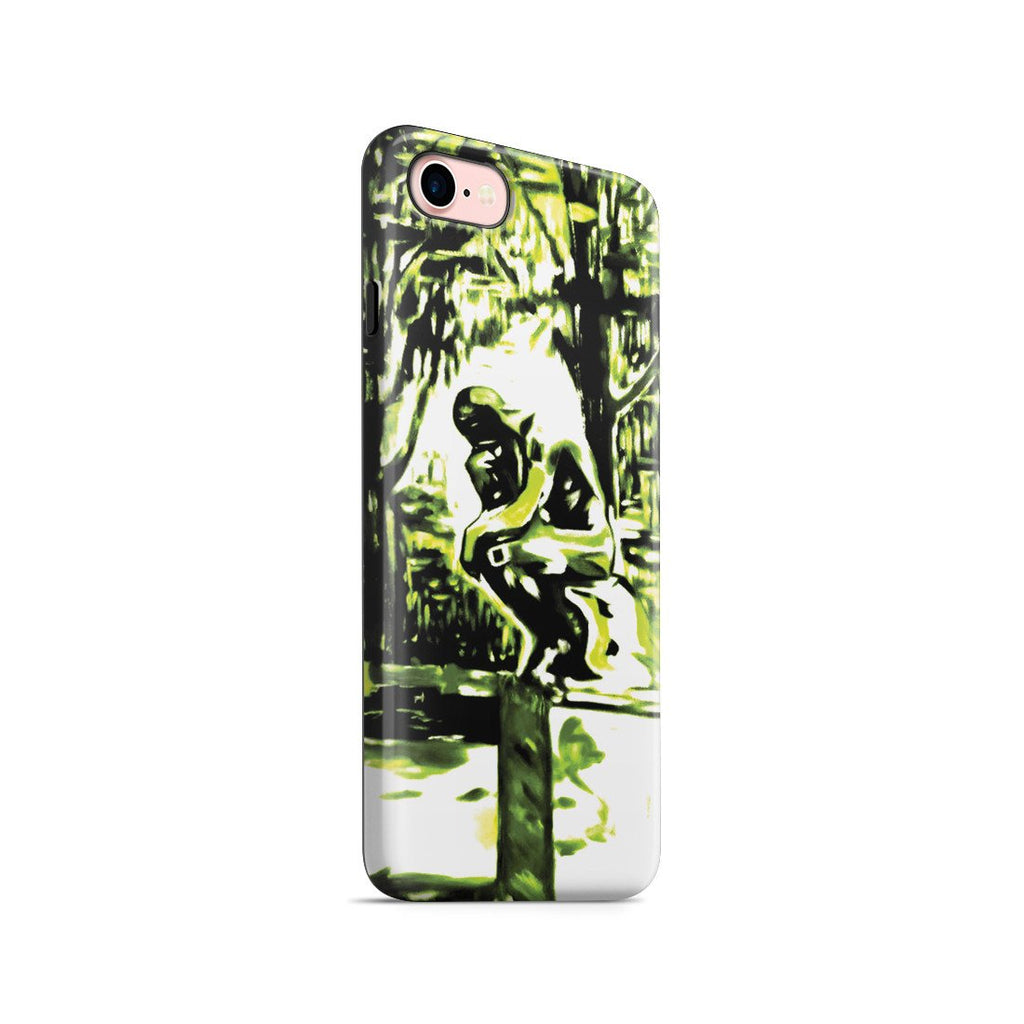 iPhone 8 Adventure Case - Rodin's Le Penseur In Dr. Linde's Garden, 1907 by Edvard Munch