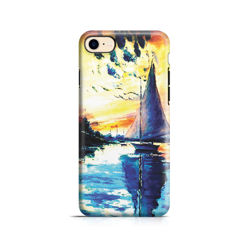 iPhone 6 | 6s Plus Adventure Case - Sailboat at Le Petit-Gennevilliers by Claude Monet