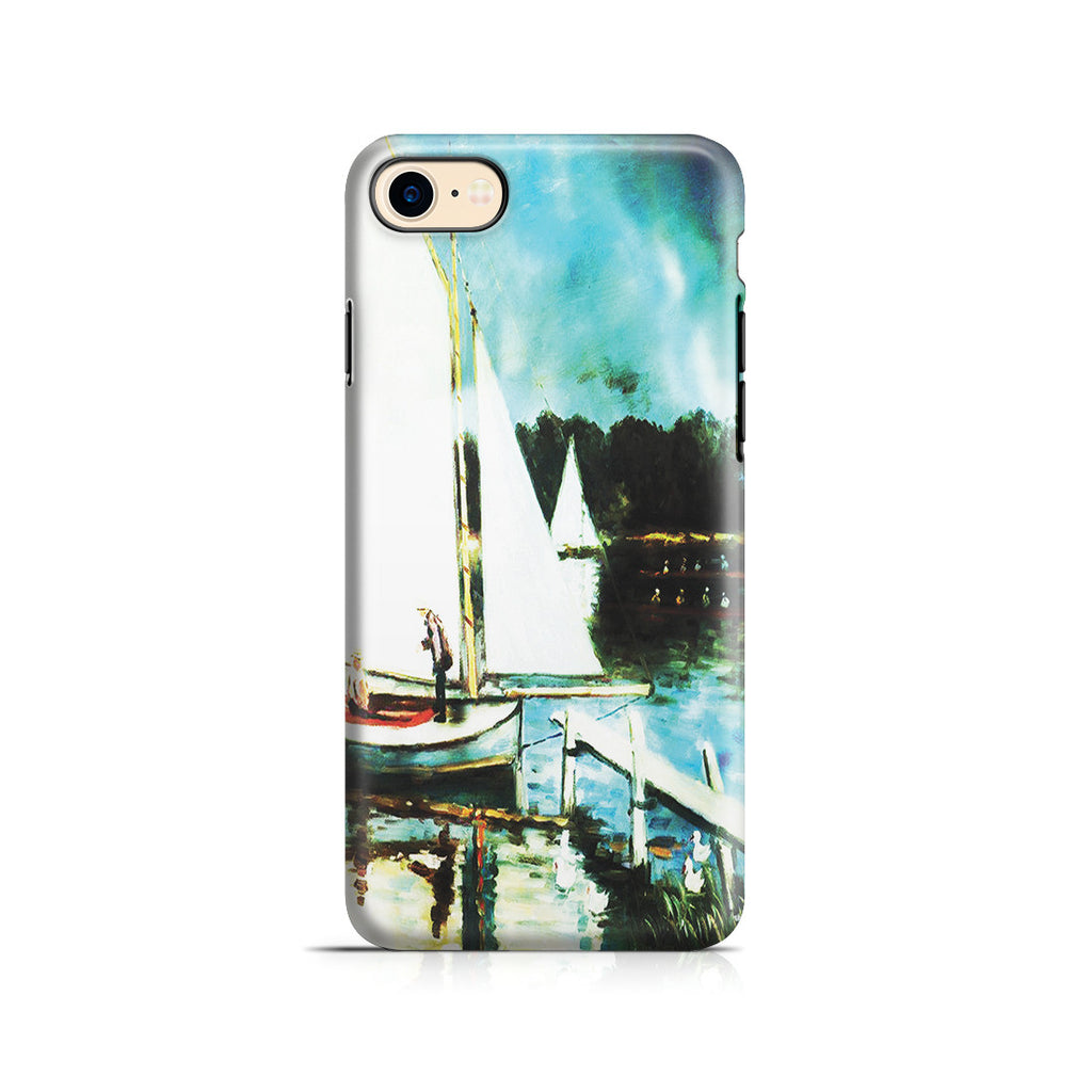 iPhone 7 Adventure Case - Sailing at Argenteuil by Claude Monet