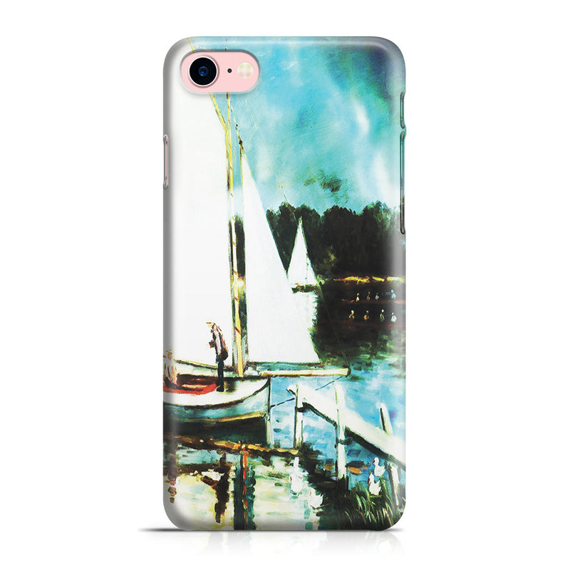 iPhone 7 Case - Sailing at Argenteuil by Claude Monet