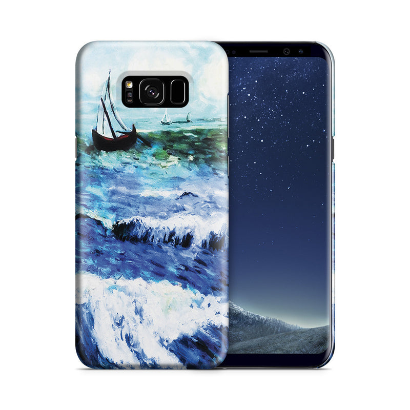 Galaxy S8 Case - Seascape at Saintes Maries by Vincent Van Gogh