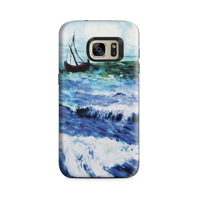 Galaxy S7 Adventure Case - Seascape at Saintes Maries by Vincent Van Gogh