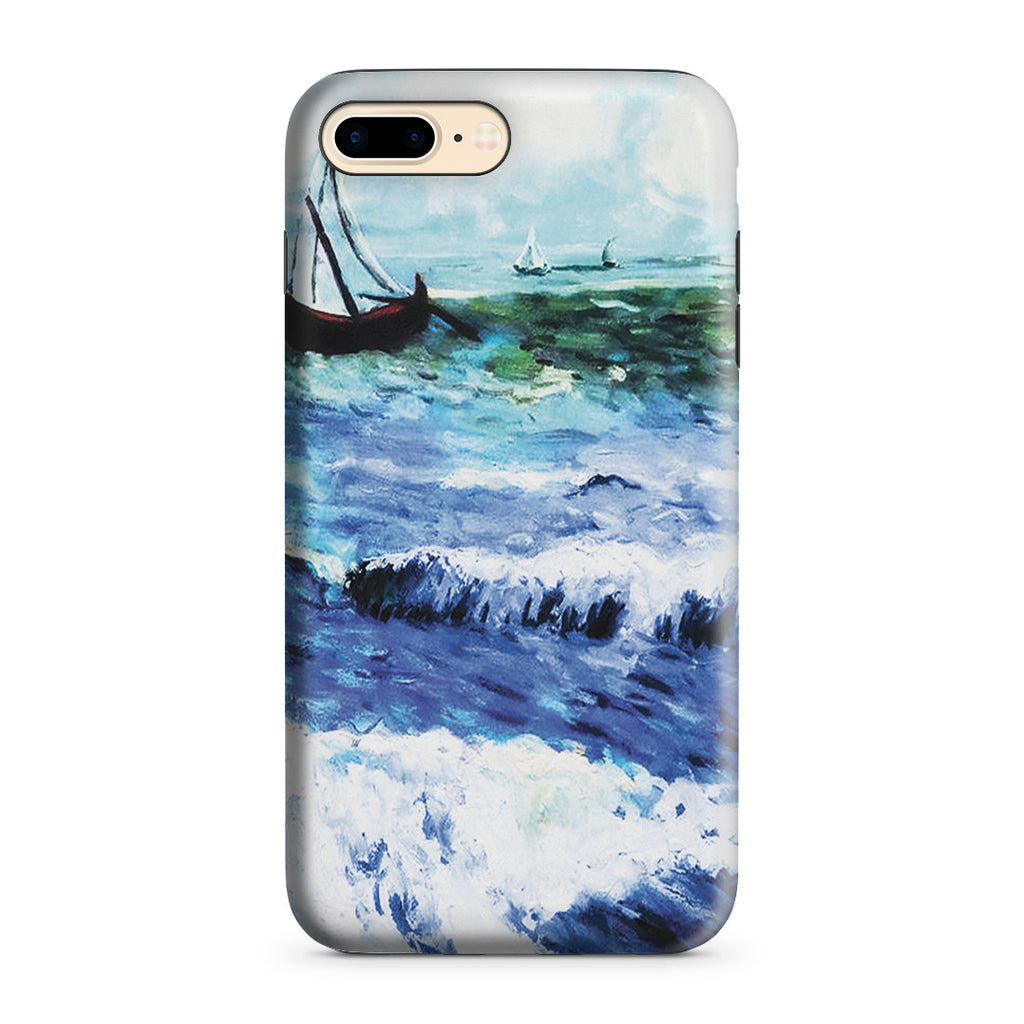iPhone 7 Plus Adventure Case - Seascape at Saintes Maries by Vincent Van Gogh