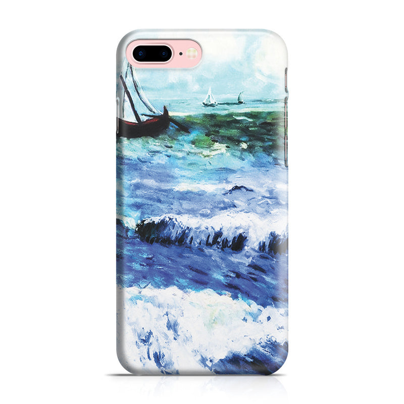 iPhone 7 Plus Case - Seascape at Saintes Maries by Vincent Van Gogh