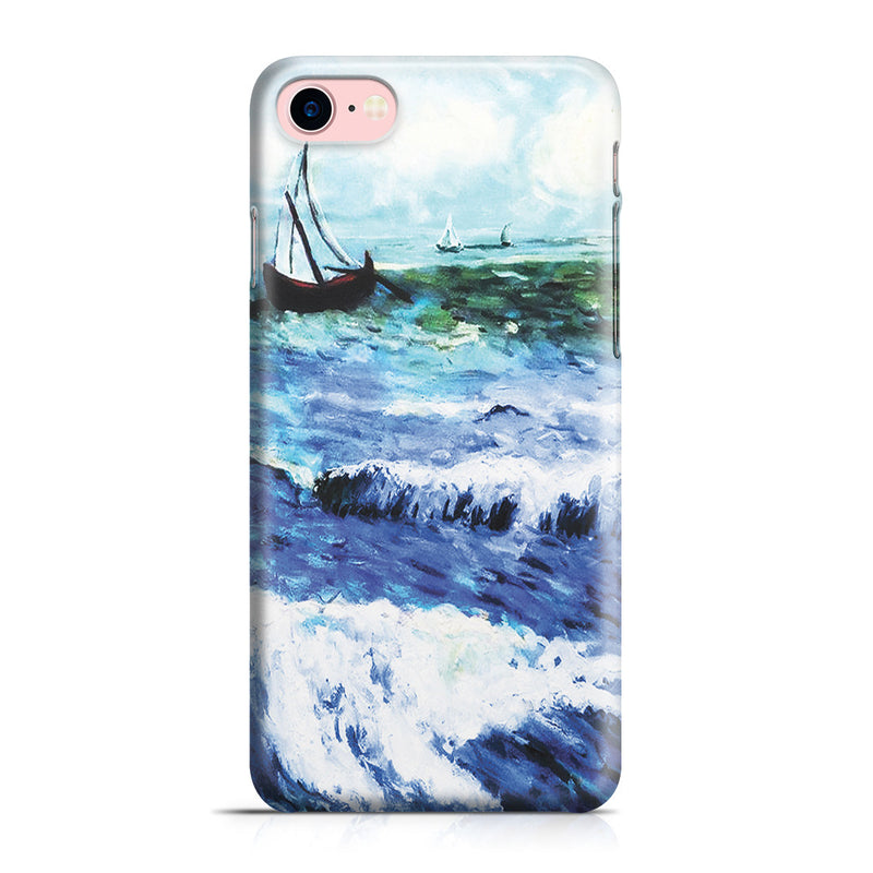 iPhone 7 Case - Seascape at Saintes Maries by Vincent Van Gogh