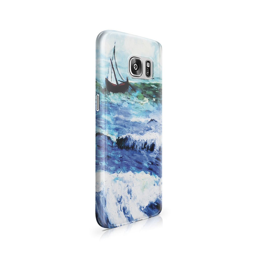 Galaxy S7 Case - Seascape at Saintes Maries by Vincent Van Gogh