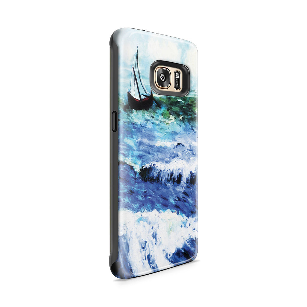 Galaxy S7 Edge Adventure Case - Seascape at Saintes Maries by Vincent Van Gogh