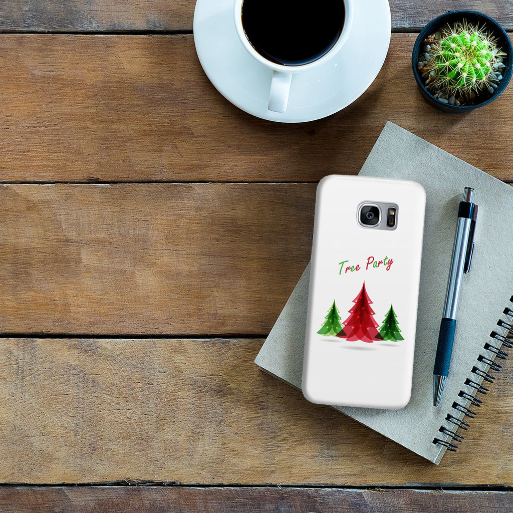 Galaxy S7 Edge Case - Tree Festival
