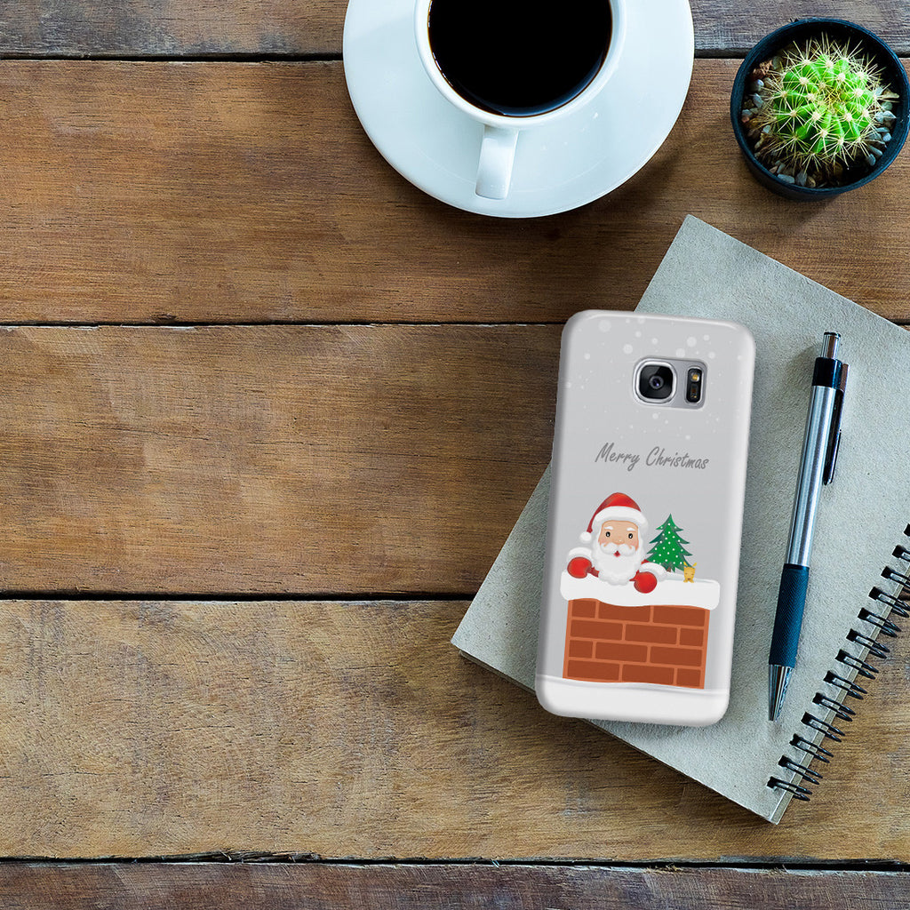 Galaxy S7 Edge Case - Sneaky Santa