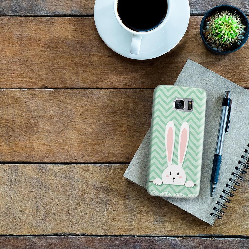 Galaxy S7 Edge Case - Curious Rabbit