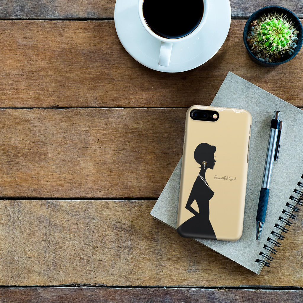 iPhone 7 Plus Case - Gold Silhouette