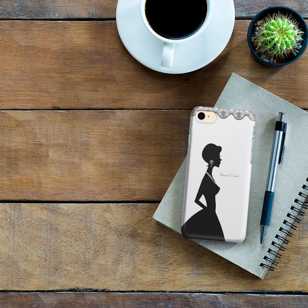 iPhone 6 | 6s Case - Silver Silhouette