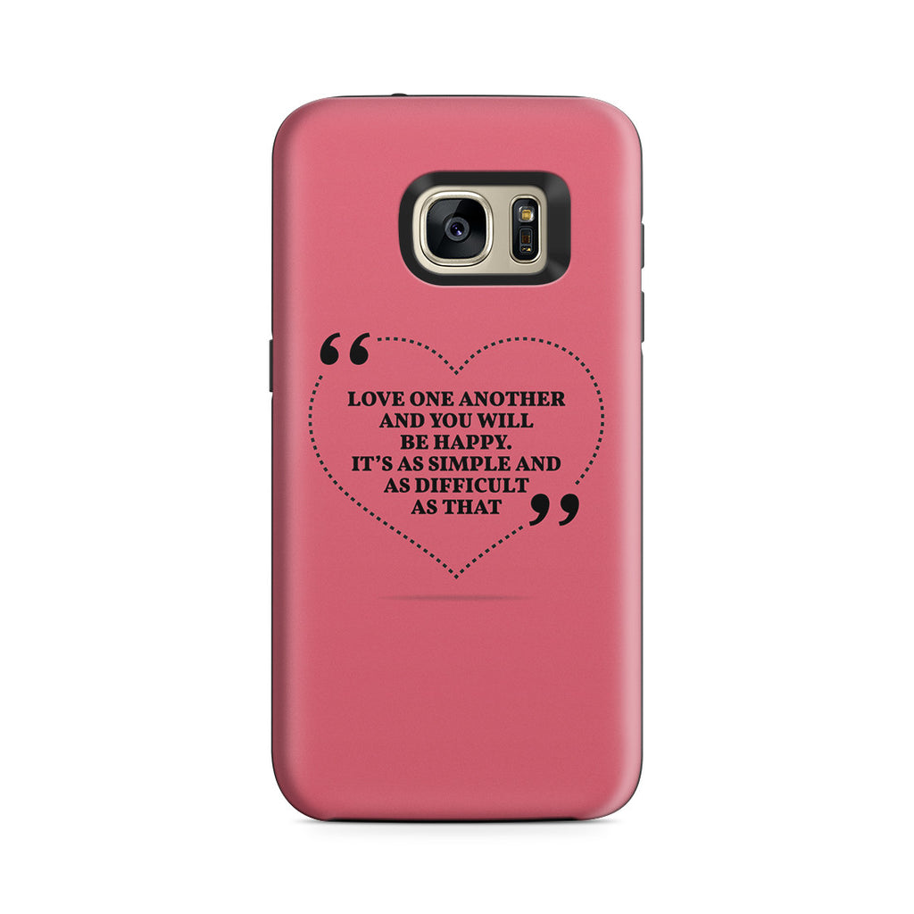 Galaxy S7 Adventure Case - Love is the Answer