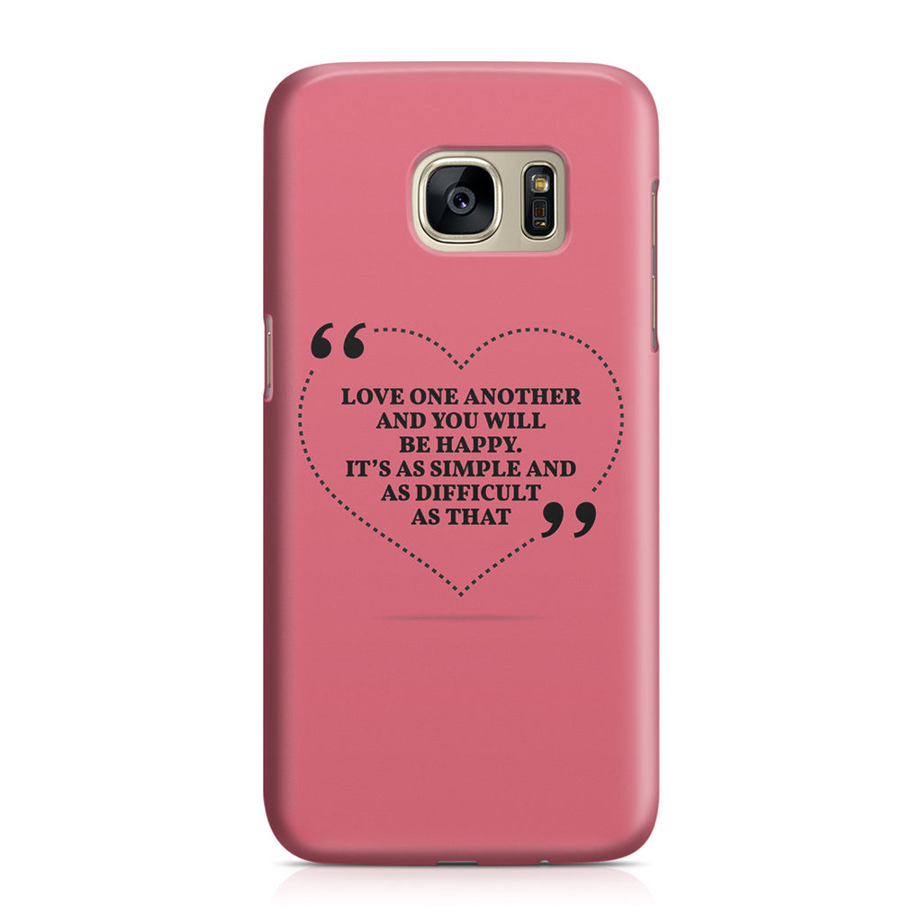 Galaxy S7 Case - Love is the Answer
