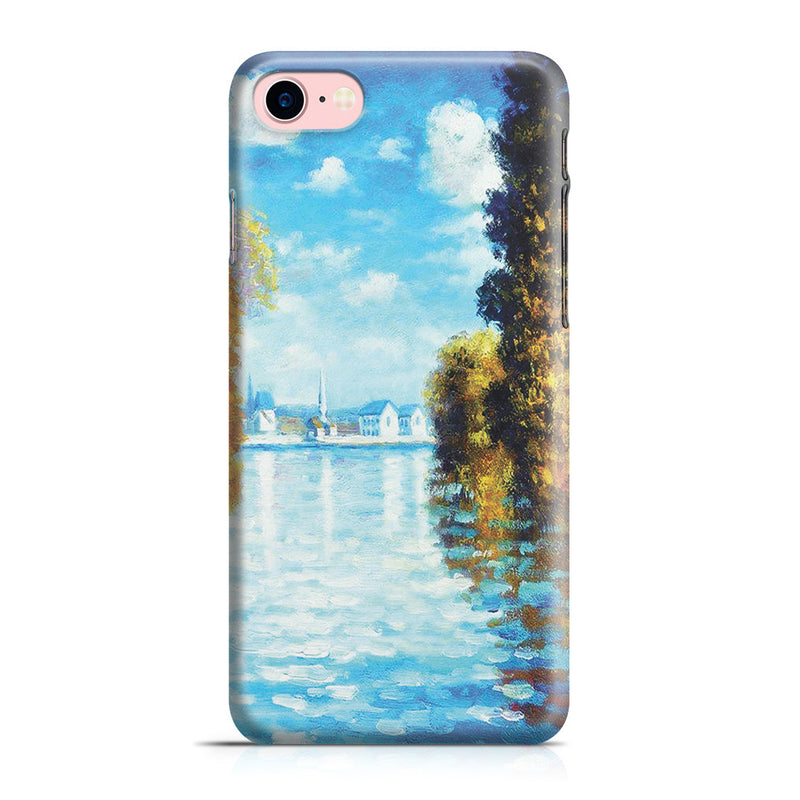 iPhone 7 Case - Autumn at Argenteuil by Claude Monet