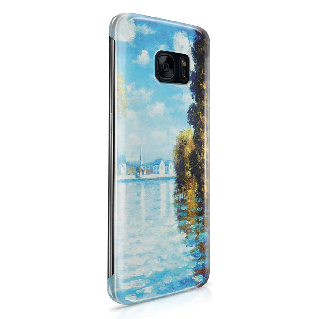 Galaxy S7 Edge Case - Autumn at Argenteuil by Claude Monet