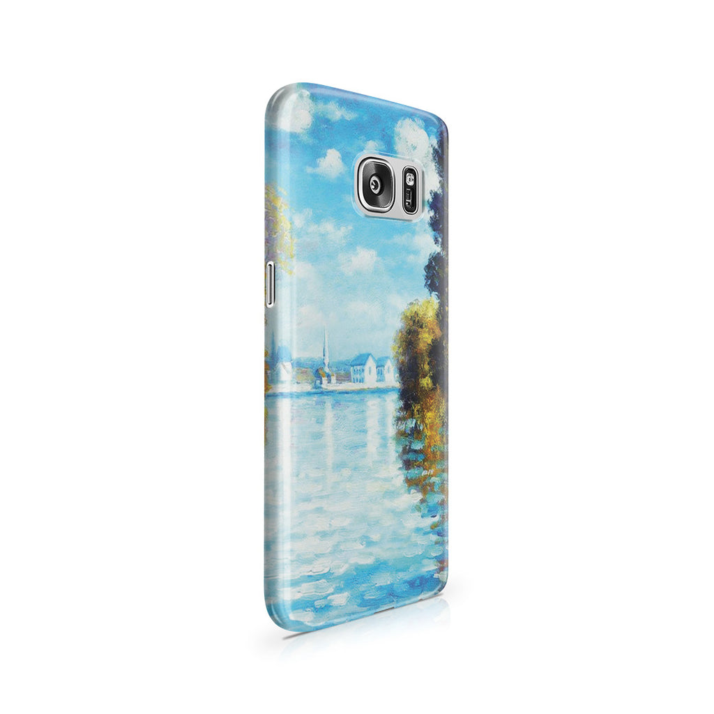 Galaxy S7 Case - Autumn at Argenteuil by Claude Monet
