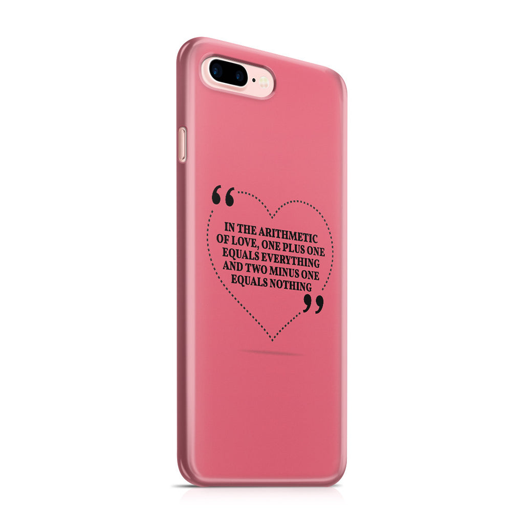 iPhone 7 Plus Case - Us Against the World