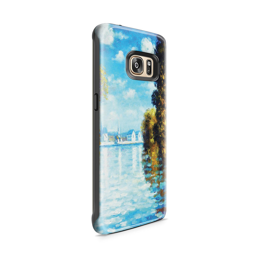 Galaxy S7 Edge Adventure Case - Autumn at Argenteuil by Claude Monet