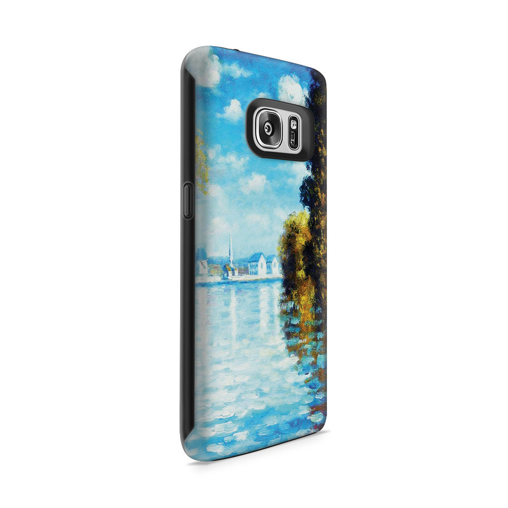 Galaxy S7 Adventure Case - Autumn at Argenteuil by Claude Monet