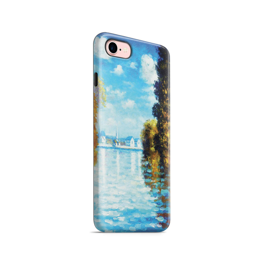 iPhone 7 Adventure Case - Autumn at Argenteuil by Claude Monet