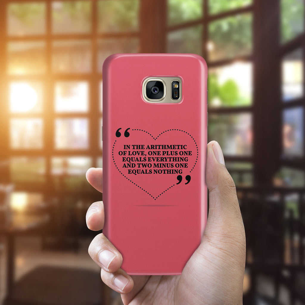 Galaxy S7 Edge Case - Us Against the World