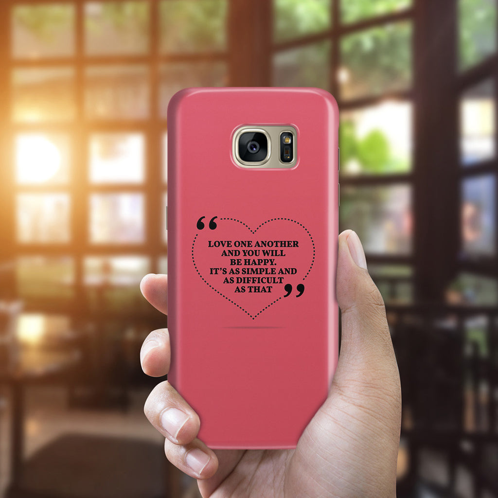 Galaxy S7 Edge Case - Love is the Answer