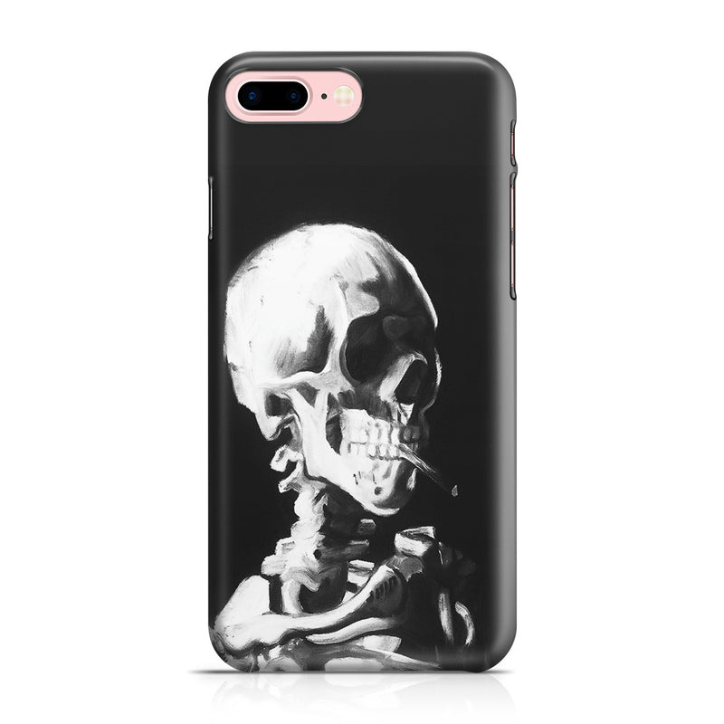 iPhone 7 Plus Case - Skull of a Skeleton with Burning Cigarette by Vincent Van Gogh