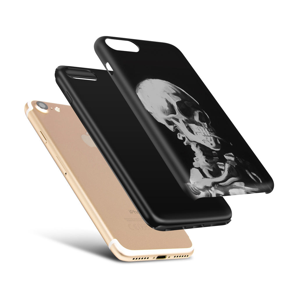 iPhone 6 | 6s Plus Adventure Case - Skull of a Skeleton with Burning Cigarette by Vincent Van Gogh