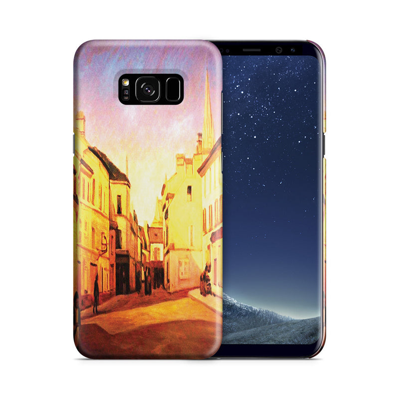 Galaxy S8 Plus Case - Square in Argenteuil by Alfred Sisley
