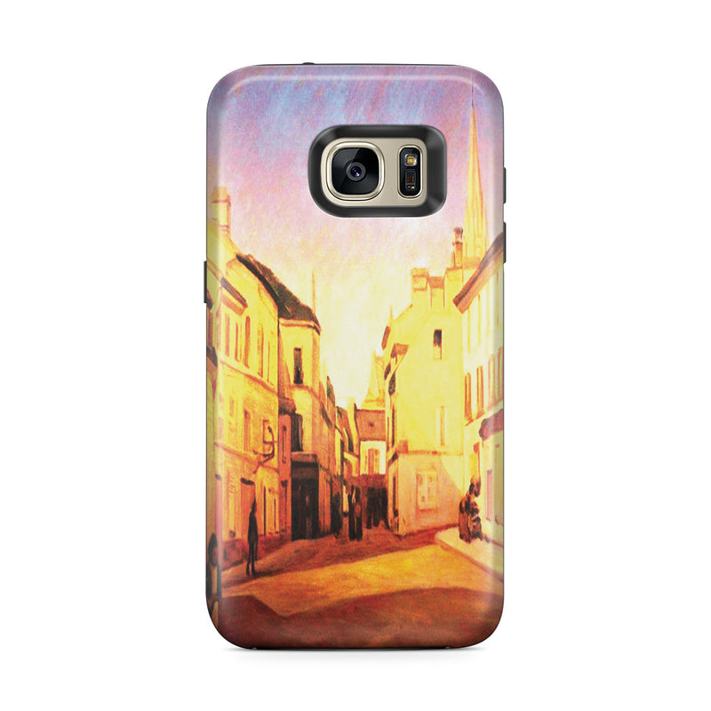 Galaxy S7 Edge Adventure Case - Square in Argenteuil by Alfred Sisley