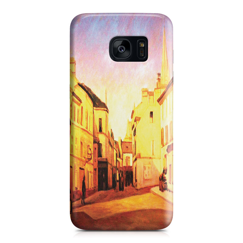 Galaxy S7 Edge Case - Square in Argenteuil by Alfred Sisley
