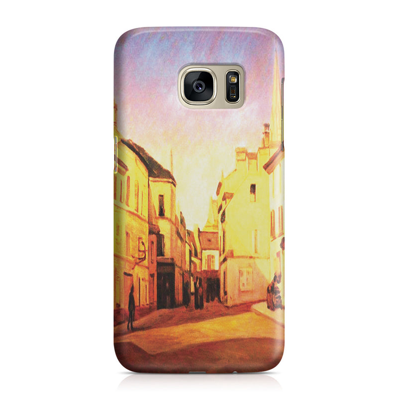 Galaxy S7 Case - Square in Argenteuil by Alfred Sisley