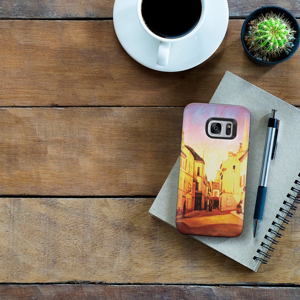 Galaxy S7 Adventure Case - Square in Argenteuil by Alfred Sisley