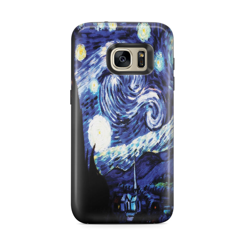 Galaxy S7 Edge Adventure Case - Starry Night by Vincent Van Gogh