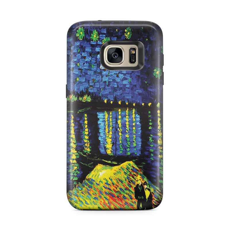 Galaxy S7 Edge Adventure Case - Starry Night Over the Rhone by Vincent Van Gogh