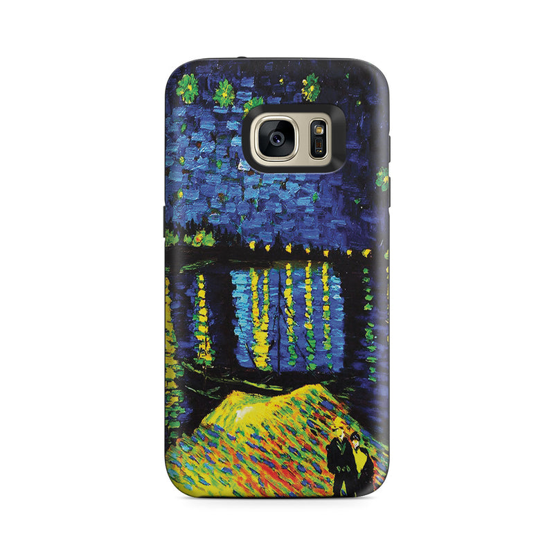 Galaxy S7 Adventure Case - Starry Night Over the Rhone by Vincent Van Gogh
