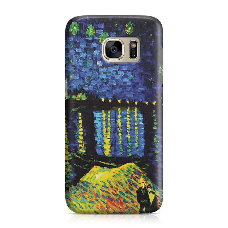 Galaxy S7 Case - Starry Night Over the Rhone by Vincent Van Gogh
