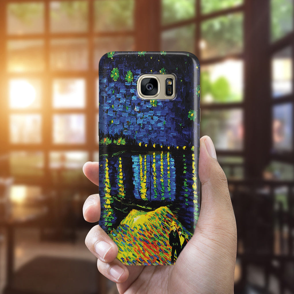 Galaxy S7 Edge Case - Starry Night Over the Rhone by Vincent Van Gogh